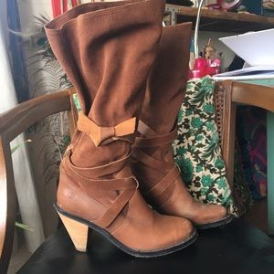 Report Shoes - Report leather boots size 9.5